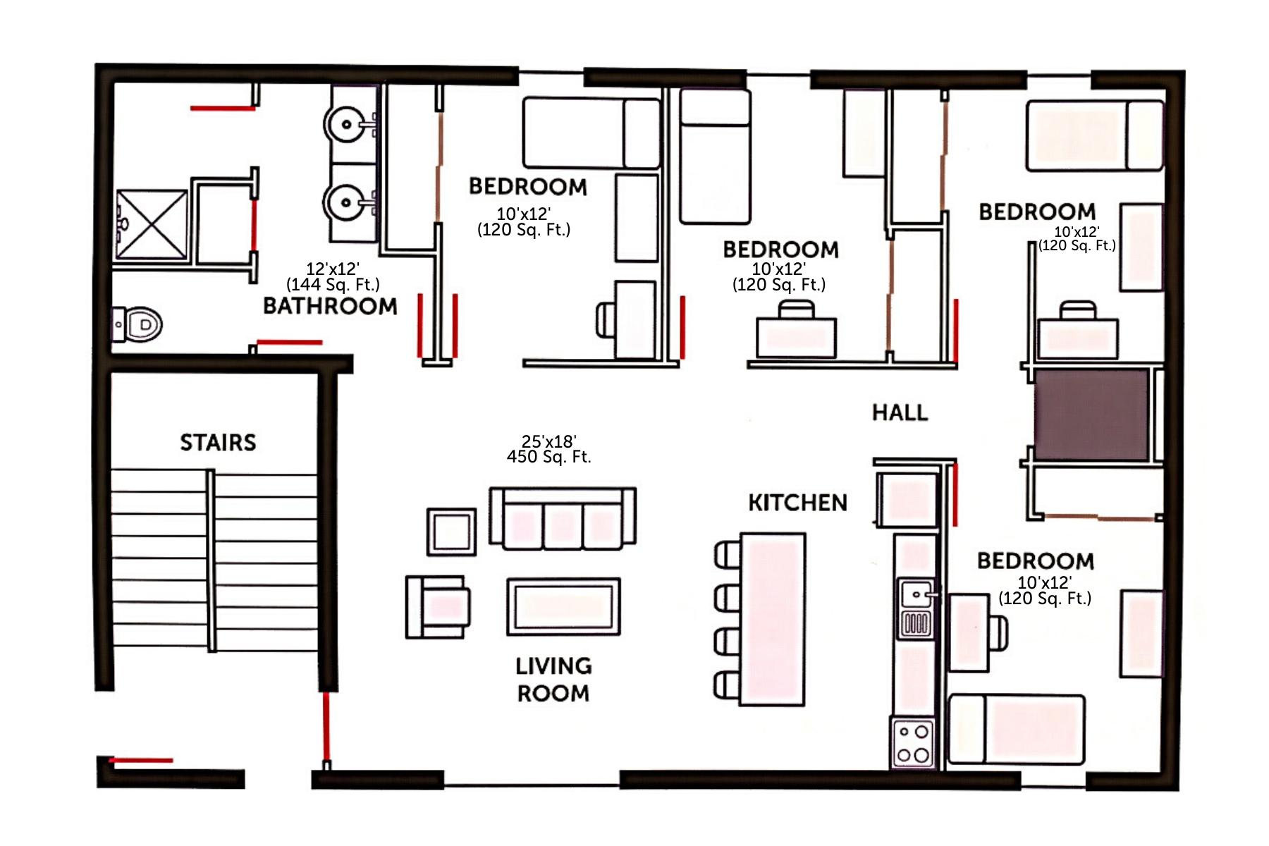 Acorn Graduate Apartments Residence Hall Information Myaic